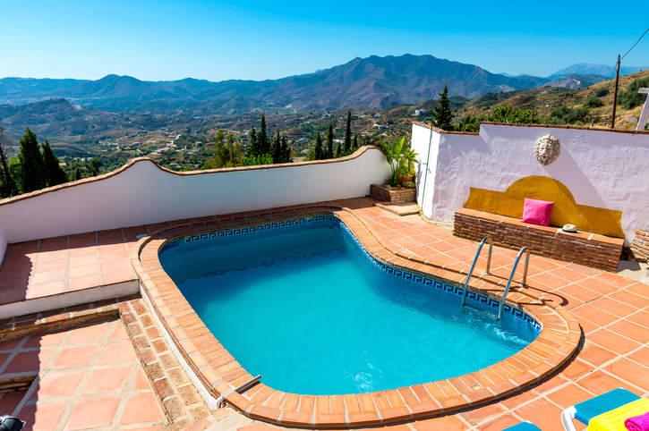 Villa Las Encinas, Mijas, Costa del Sol, Spain