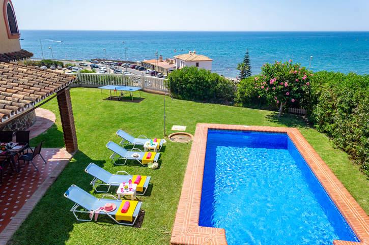 Villa Faro Playa, Mijas Costa, Costa del Sol, Spain