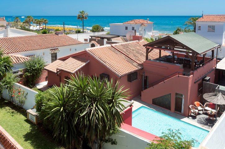 Villa Golden Beach, Marbella, Costa del Sol, Spain