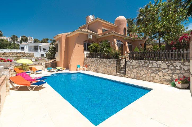 Villa Helen, Mijas Costa, Costa del Sol, Spain