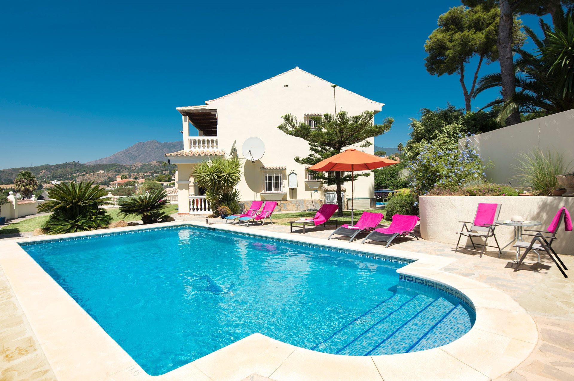 Villa Holivista, Estepona, Costa del Sol, Spain