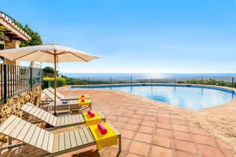 Villa La Huerta, Mijas, Costa del Sol, Spain