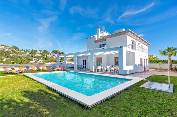 Villa Kamal, Fuengirola, Costa del Sol, Spain