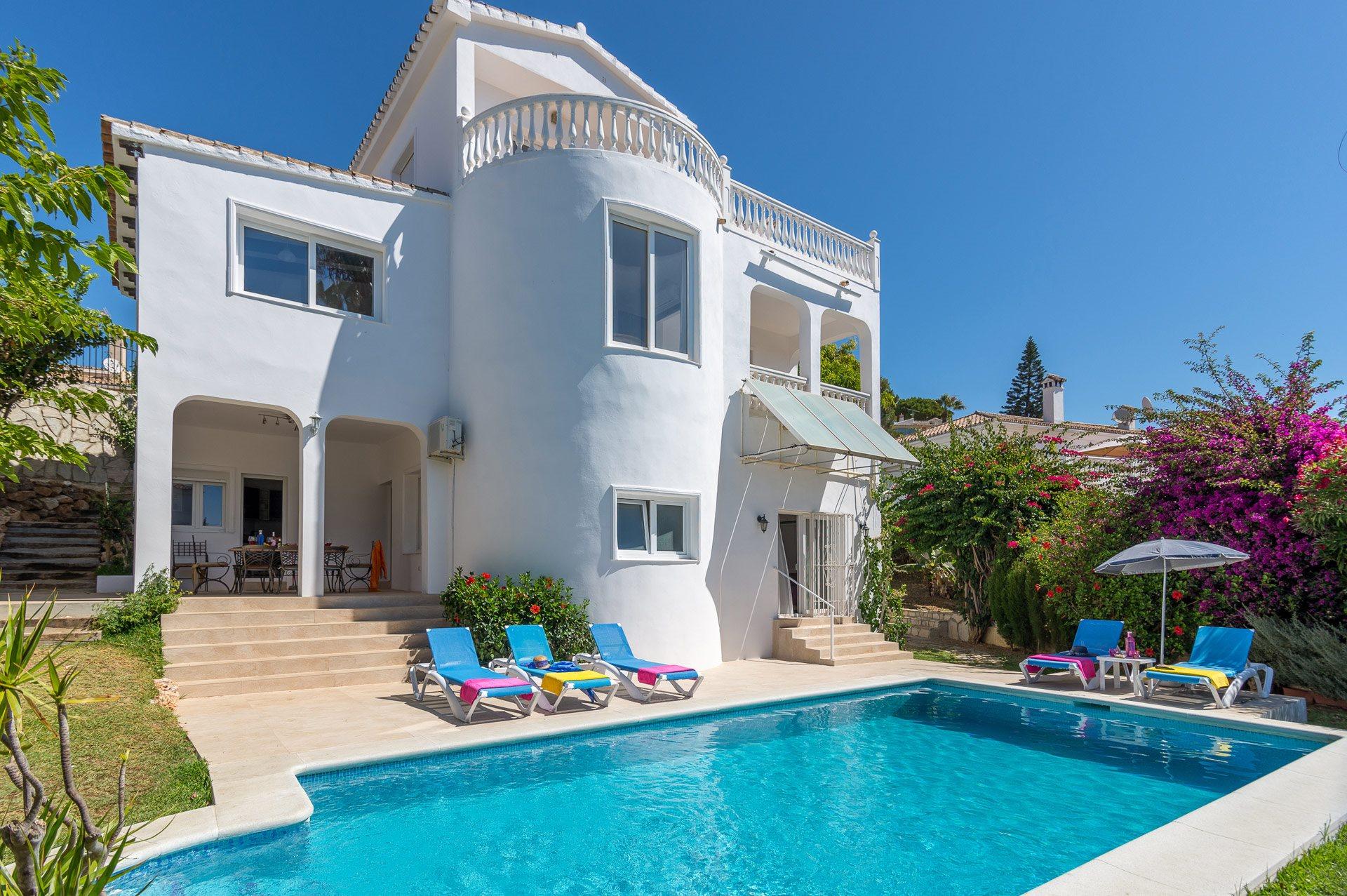 Villa Mariposa Sol, Mijas Costa, Costa del Sol, Spain