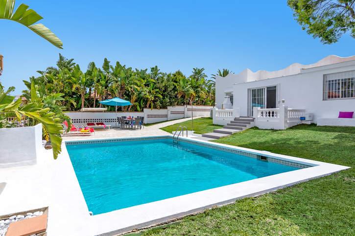 Villa Mijas Playa, Mijas Costa, Costa del Sol, Spain