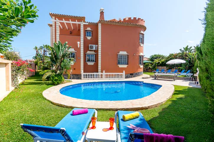 Villa Mirador El Faro, Mijas Costa, Costa del Sol, Spain