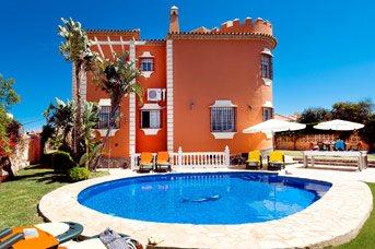 Villa Mirador Faro, Mijas Costa, Costa del Sol, Spain