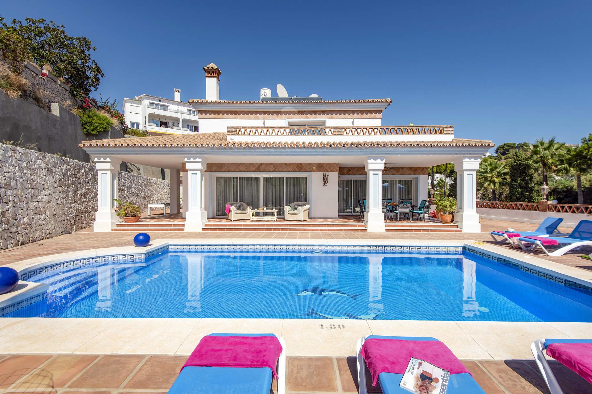Villa miraflores sol in mijas costa costa del sol villa - Costa muebles mijas ...