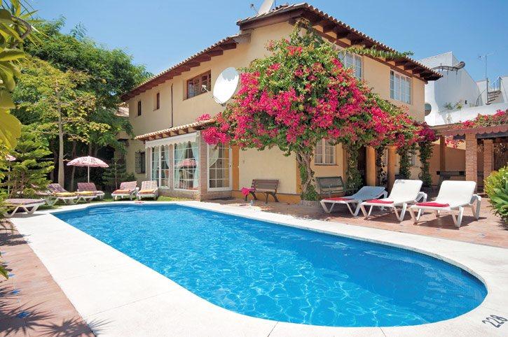 Villa Monegra, San Pedro De Alcantara, Costa del Sol, Spain