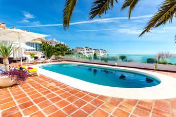 Villa Monicarlo, Mijas Costa, Costa del Sol, Spain