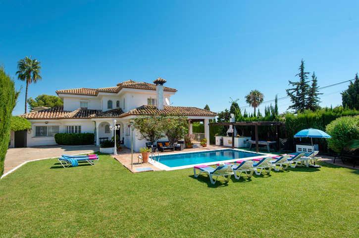 Villa Naranjos, Estepona, Costa del Sol, Spain