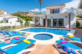 Villa Nicole, Benalmadena, Costa del Sol, Spain