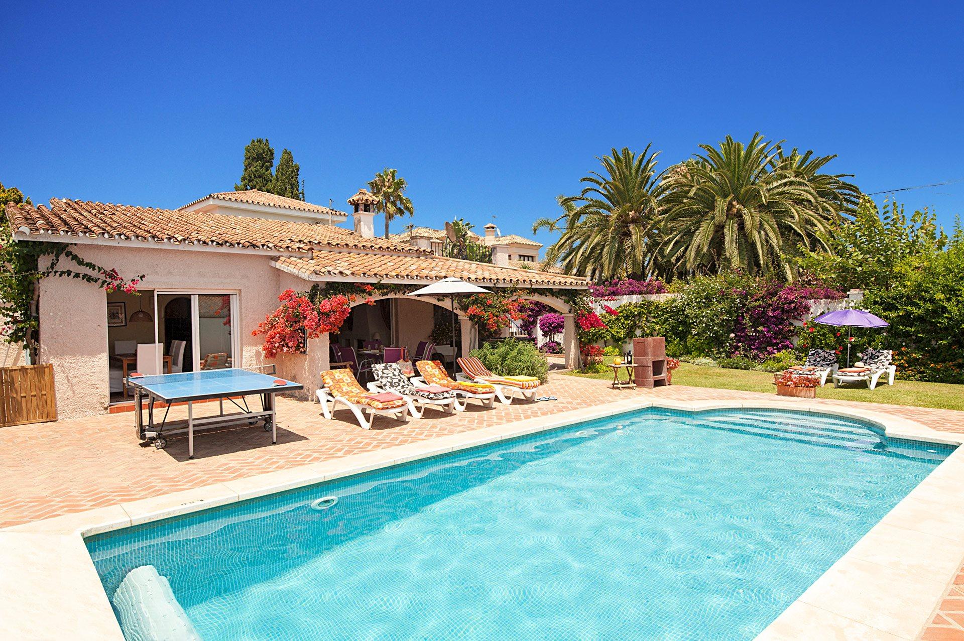 Villa Ninos, San Pedro De Alcantara, Costa del Sol, Spain