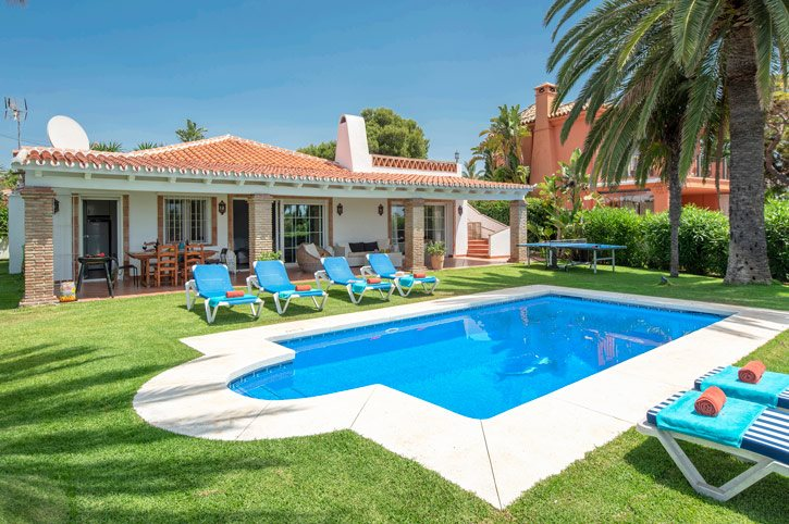 Villa Oasis Beach, Marbesa, Costa del Sol, Spain