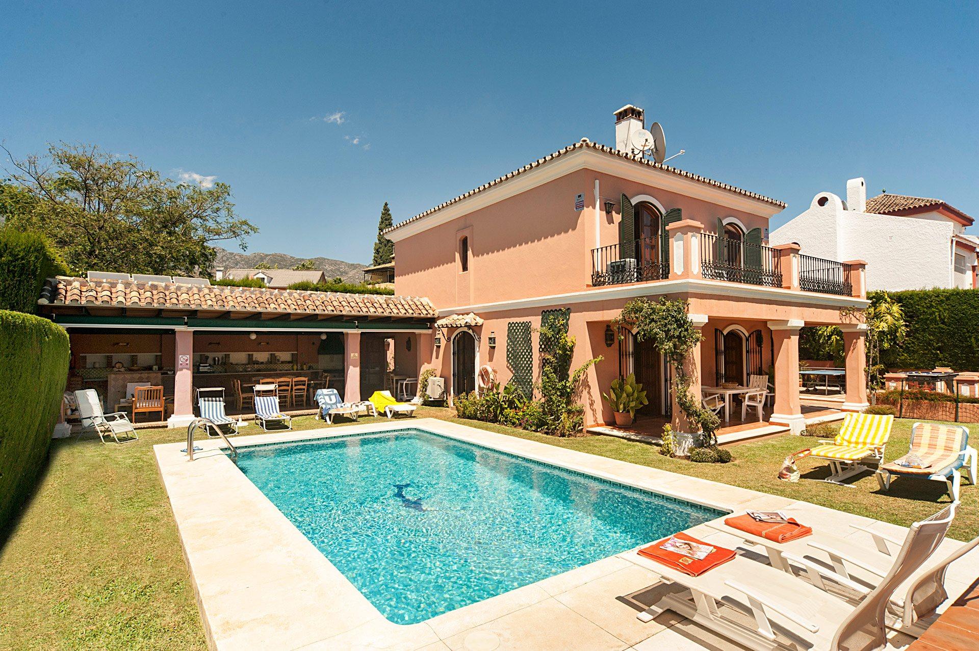 Villa Paca, Marbella, Costa del Sol, Spain