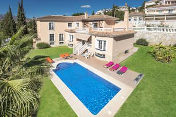 Villa Paula Dos, Campo Mijas, Costa del Sol, Spain
