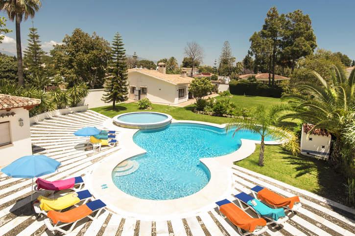 Villa Los Ramos, San Pedro De Alcantara, Costa del Sol, Spain