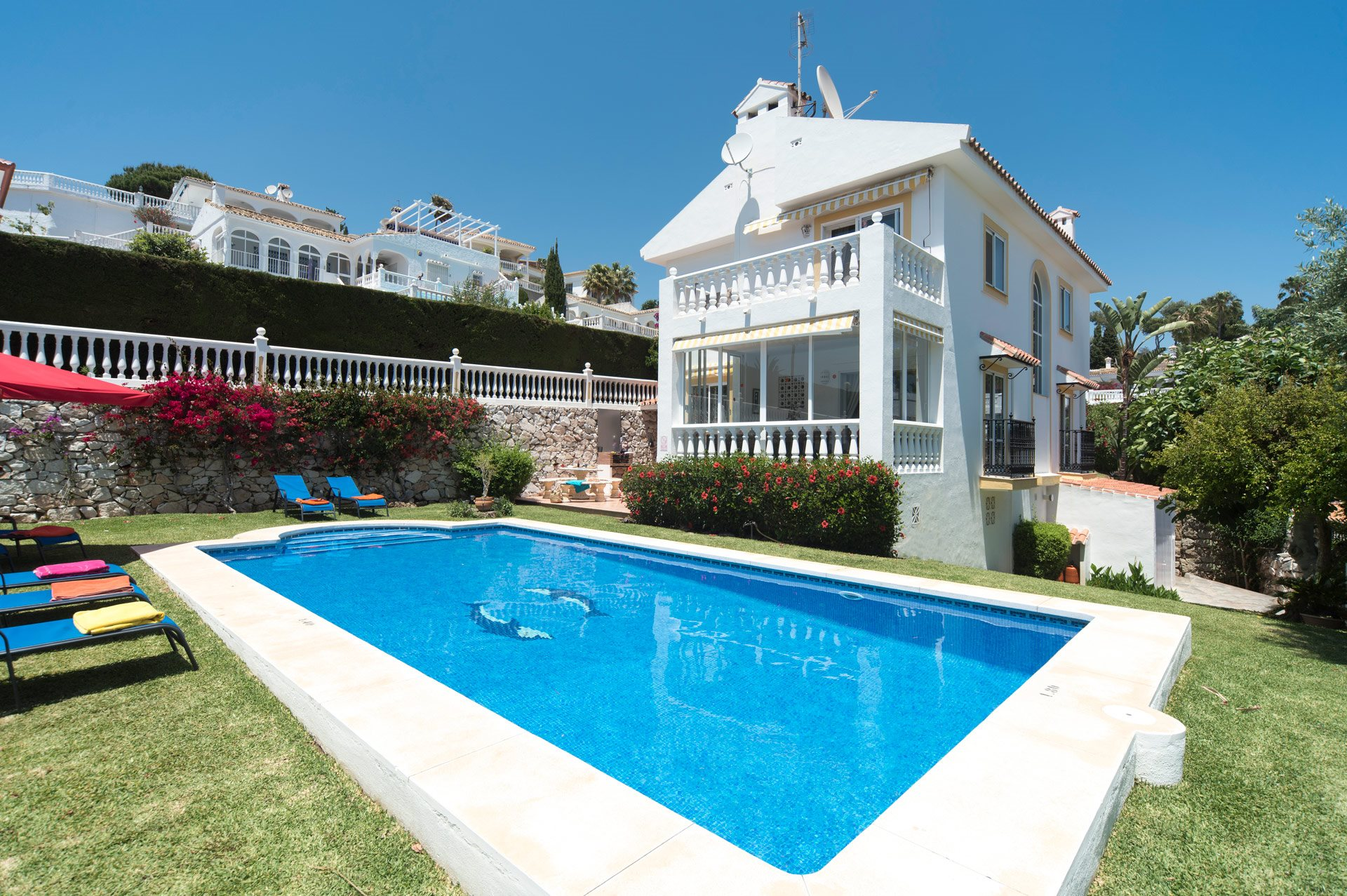 Villa Rincon Riviera, Mijas Costa, Costa del Sol, Spain