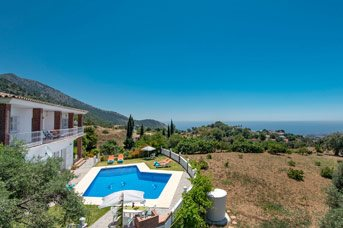 Villa Rosalia, Mijas, Costa del Sol, Spain