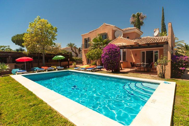 Villa Santa Elena, Calahonda, Costa del Sol, Spain