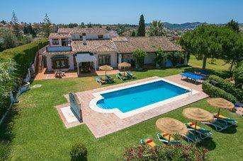 Villa Sierrezuela, Fuengirola, Costa del Sol, Spain