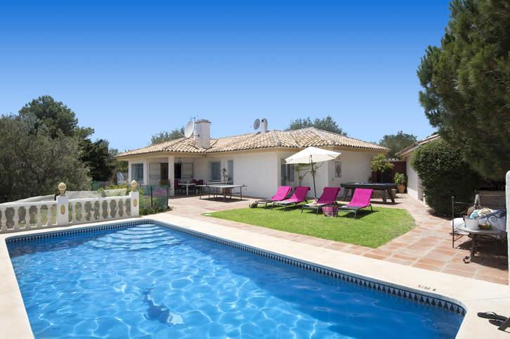 Villa Solana Sol, Mijas, Costa del Sol, Spain