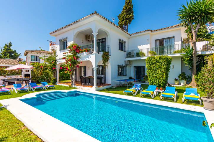 Villa Soledad, Puerto Banus, Costa del Sol, Spain