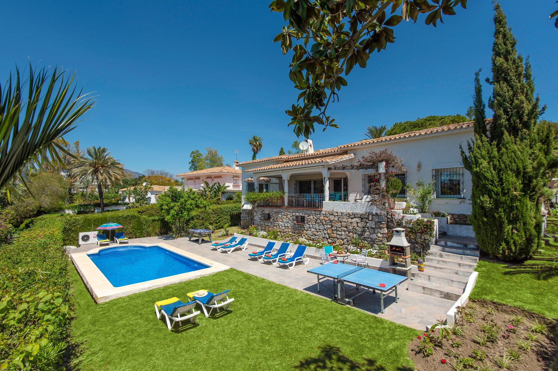 Villa Tertulia, Guadalmina, Costa del Sol, Spain
