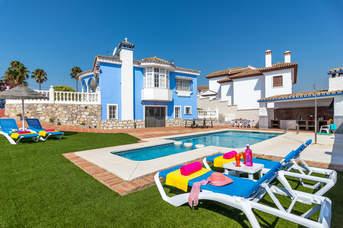Villa Tia Ana, Fuengirola, Costa del Sol, Spain