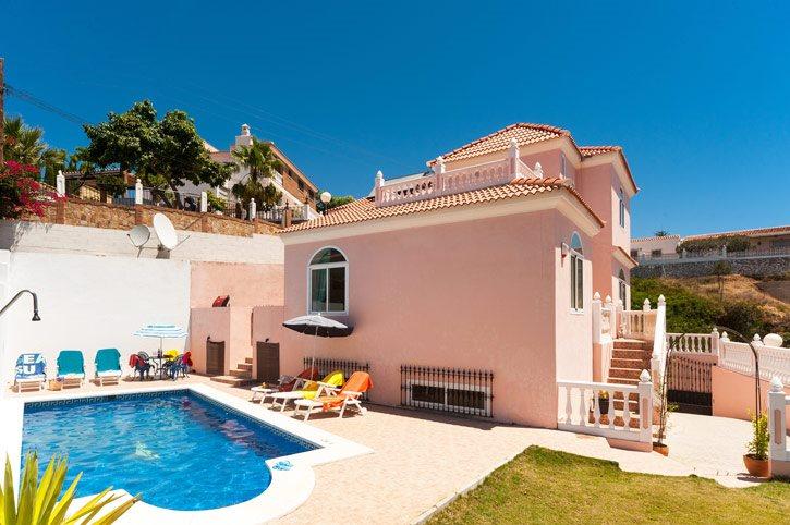Villa Torreblanca, Fuengirola, Costa del Sol, Spain