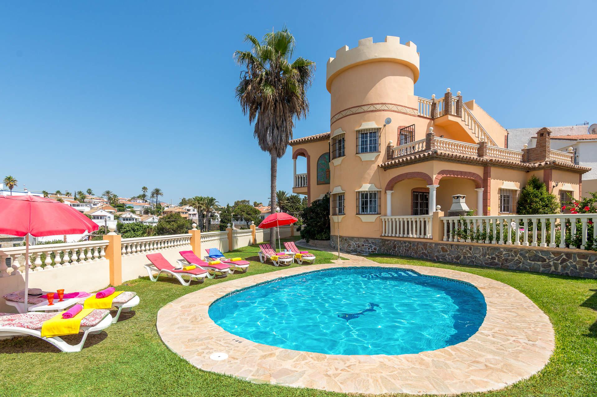 Villa Torreon Faro, Mijas Costa, Costa del Sol, Spain