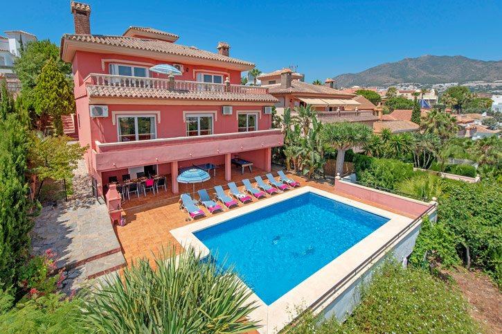 Villa Torrequebrada, Benalmadena, Costa del Sol, Spain