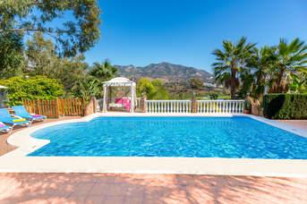 Villa Trebol, Fuengirola, Costa del Sol, Spain