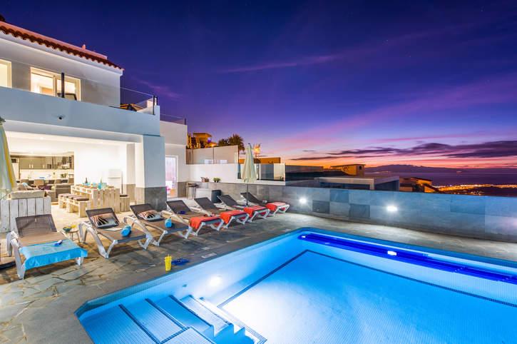 Villa Del Conde, Costa Adeje, Tenerife, Spain