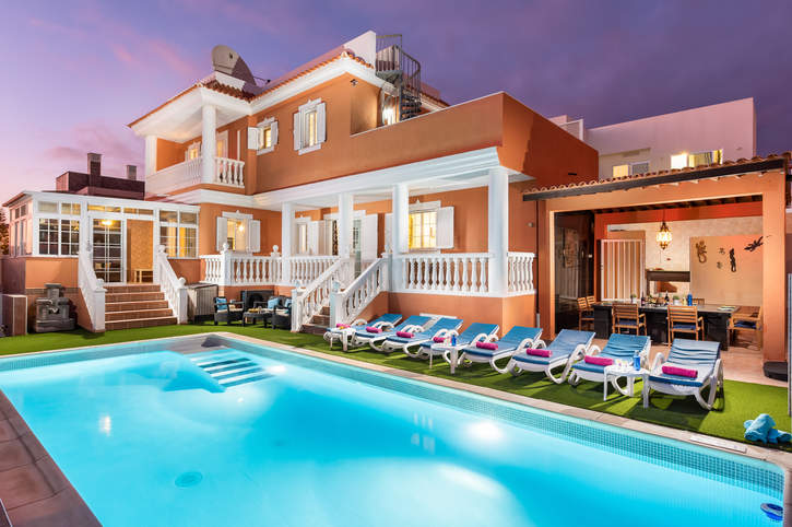 Villa Naranja, Callao Salvaje, Tenerife, Spain