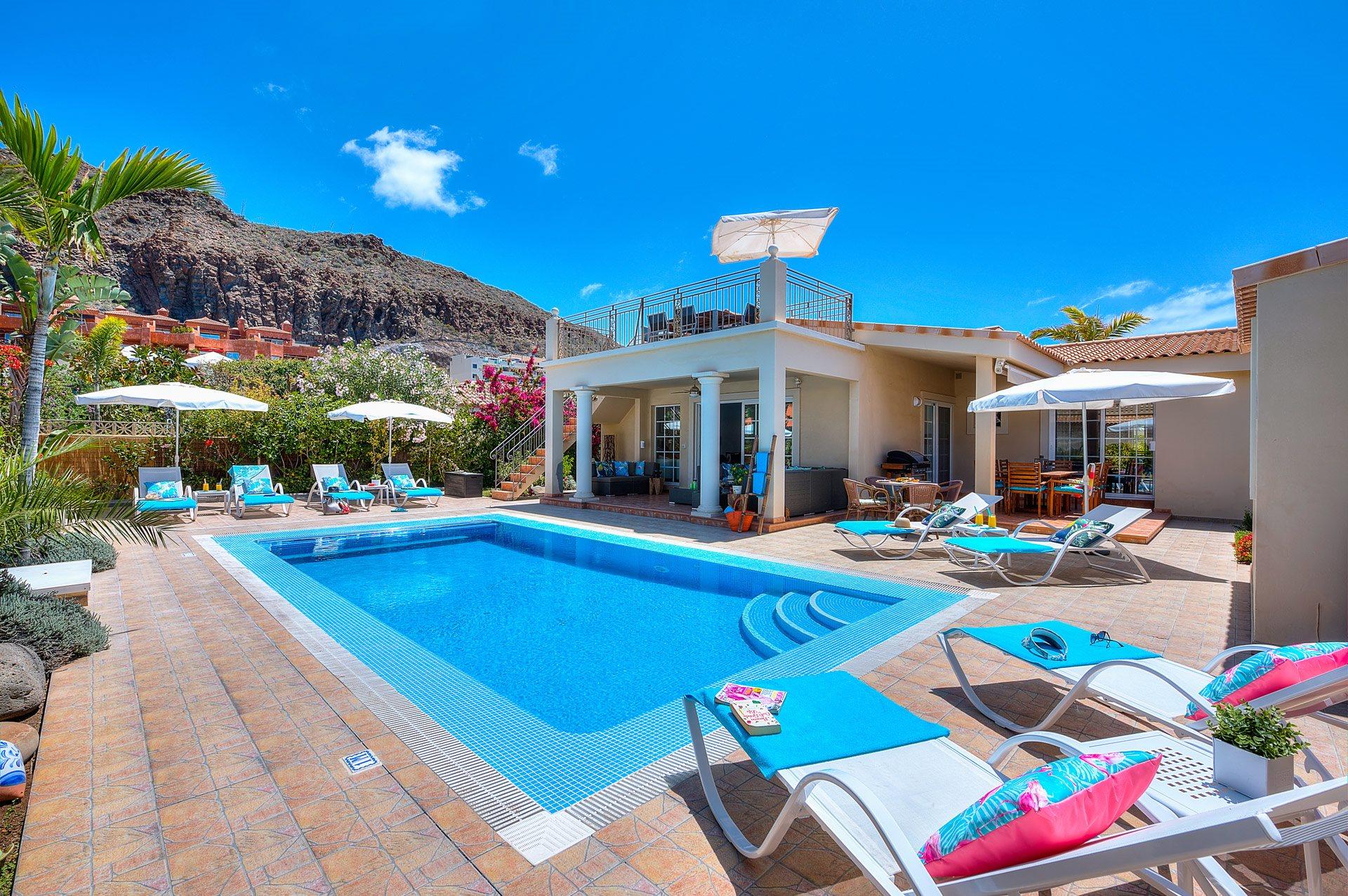 Villa Palm Mar, Palm Mar, Tenerife, Spain