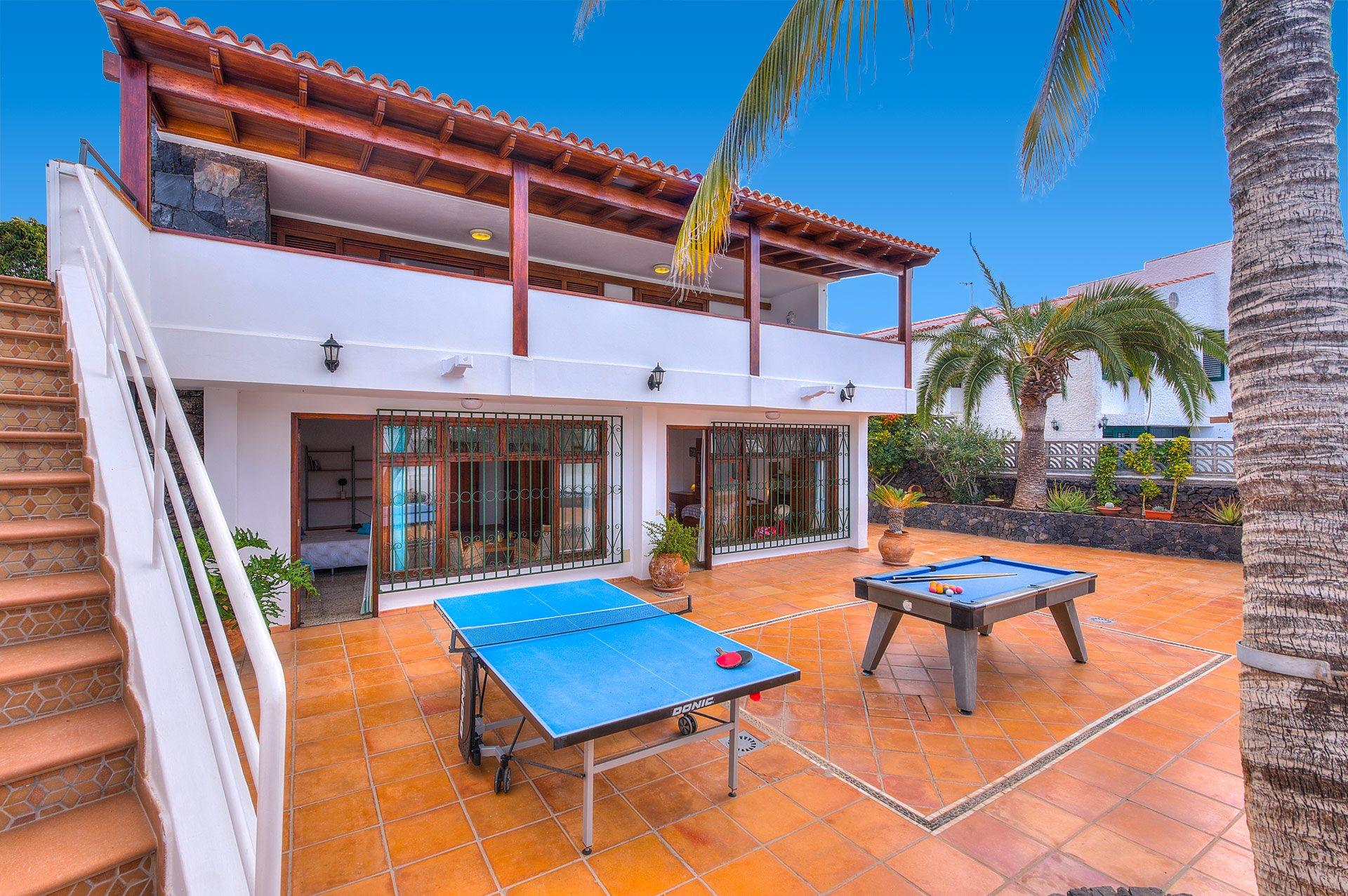 Villa Punta Negra In Playa De La Arena Tenerife Villa Plus