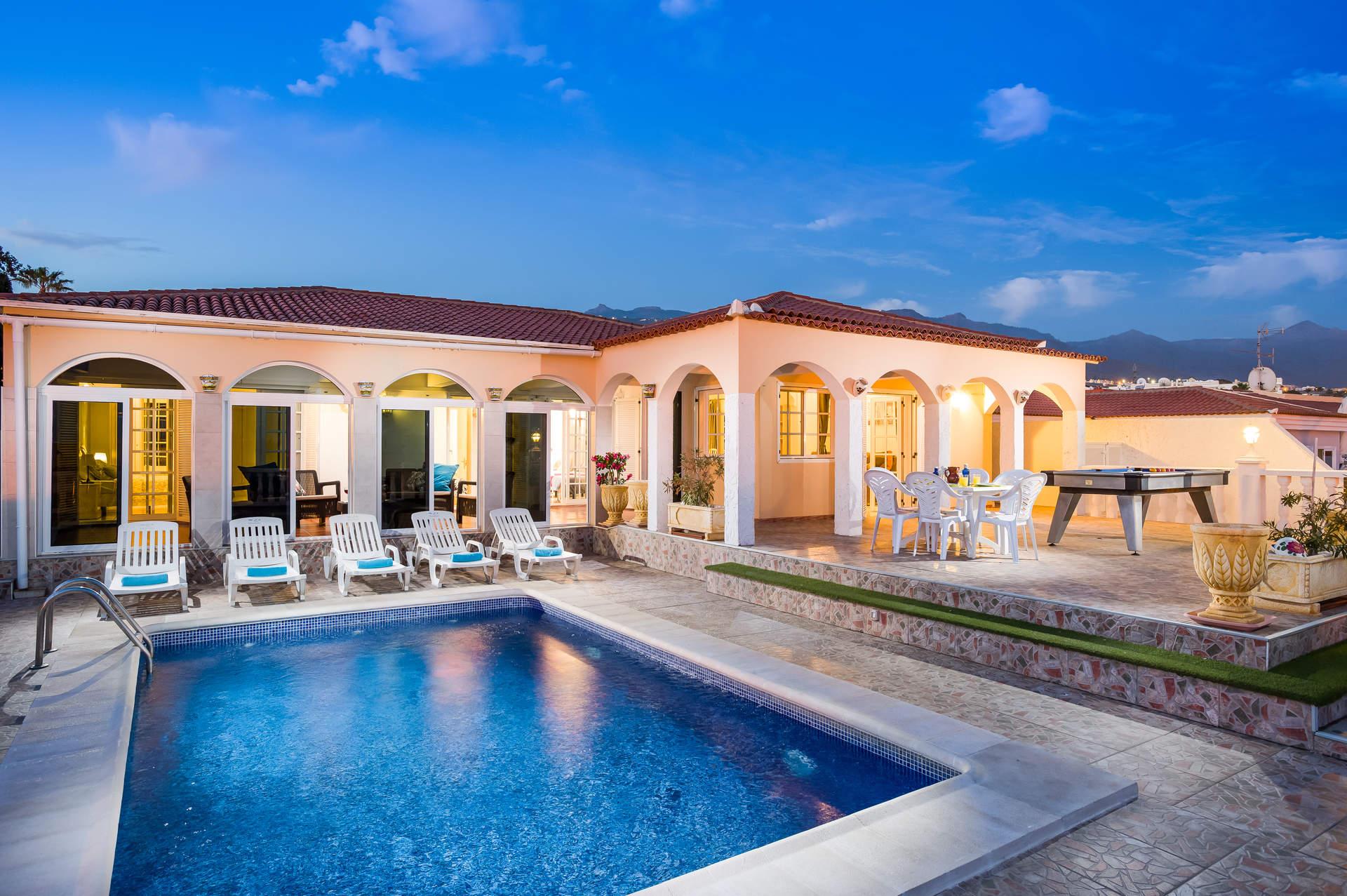 Villa Venezuela In Callao Salvaje Tenerife Villa Plus