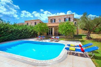 Villa Rizolia Epta, Agios Sostis, Zante, Greece