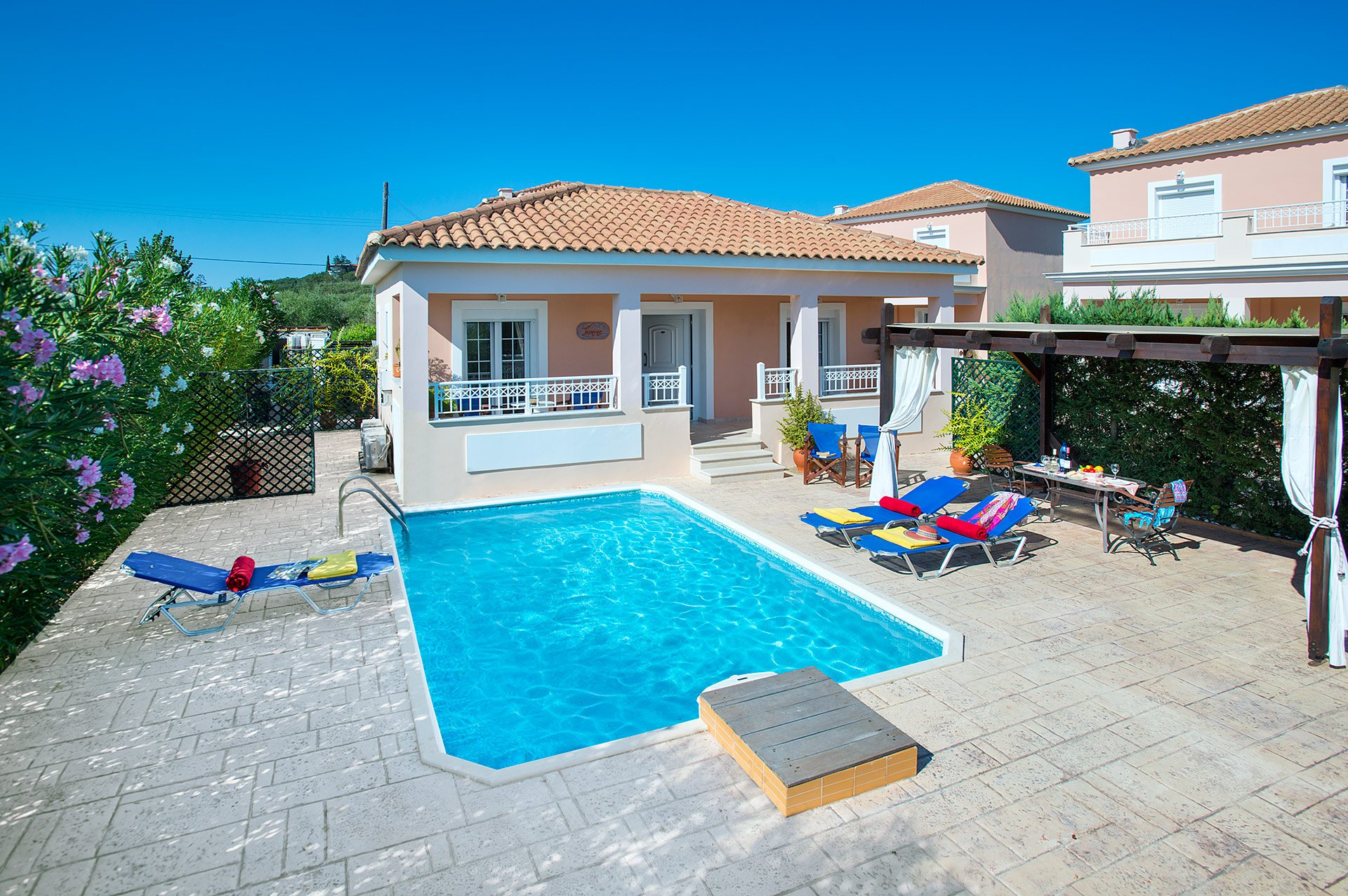 Villa Jasmine Sostis, Agios Sostis, Zante, Greece