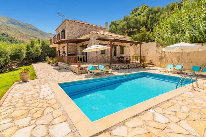 Villa Yiota, Argasi, Zante, Greece